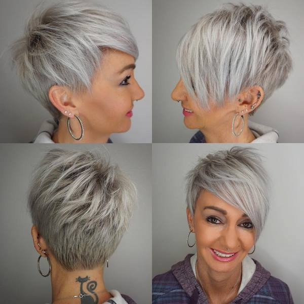 Trend Potongan Rambut Untuk Wanita 40 50 Dan 60 Tahun 7 Jenis Potongan Rambut Bergaya Anti Penuaan