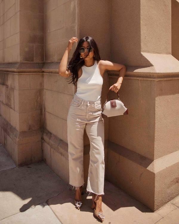 Jeans De Mujer 2019 2020 Nuevos Modelos Y Estilos De Jeans Tendencias Y Tendencias De La Temporada En La Foto